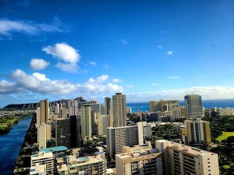 NEW! Ocean View Penthouse 2/2 bdr/bath