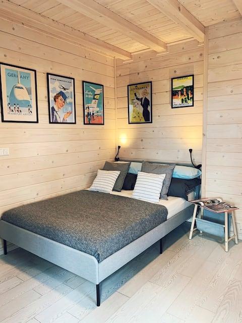 Brand new, scandinavian style studio apartment