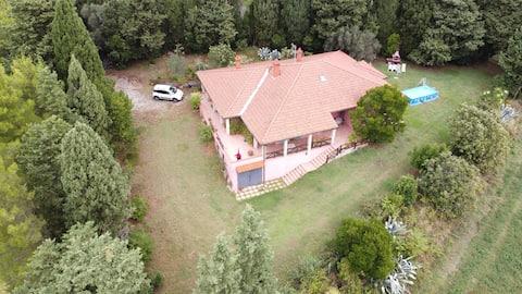 「Villa La Punta」託斯卡納的旅居
