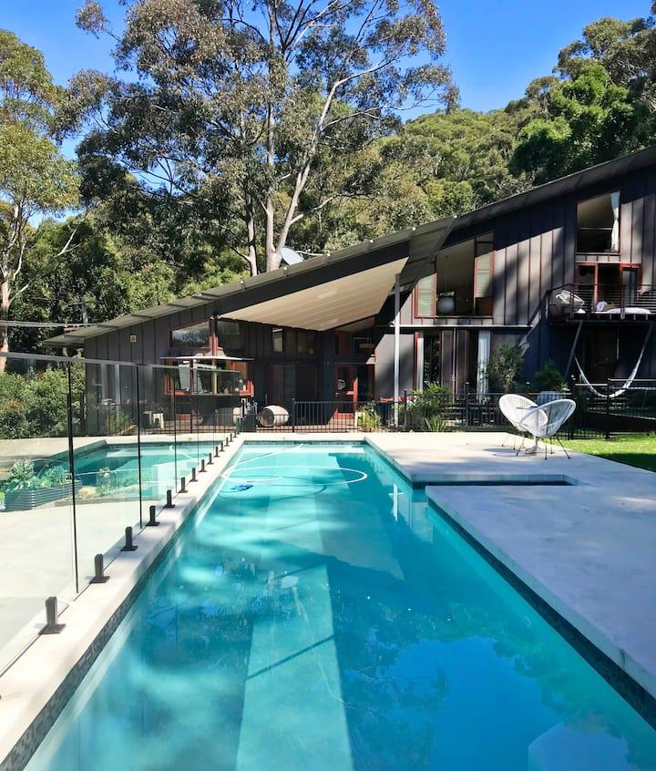 Coledale rainforest beach house