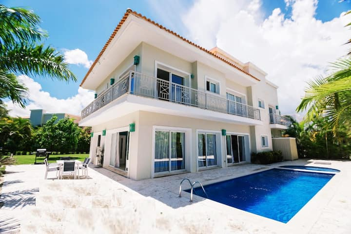 Villa DelMar Privacy-own Pool-Jacuzzi-Beach-Safety