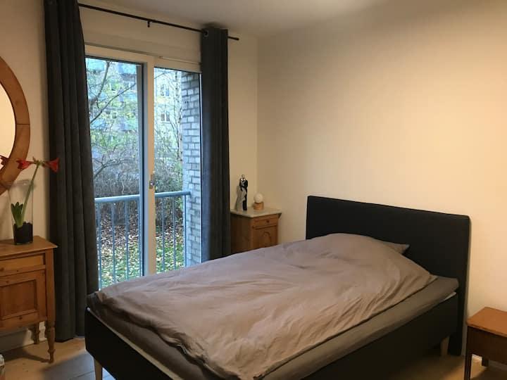 Hyggeligt og centralt beliggende værelse:-)