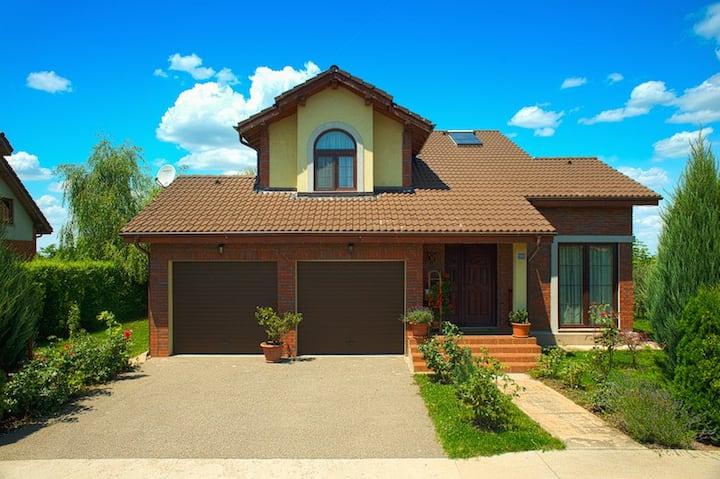 House on countryside near Bucharest