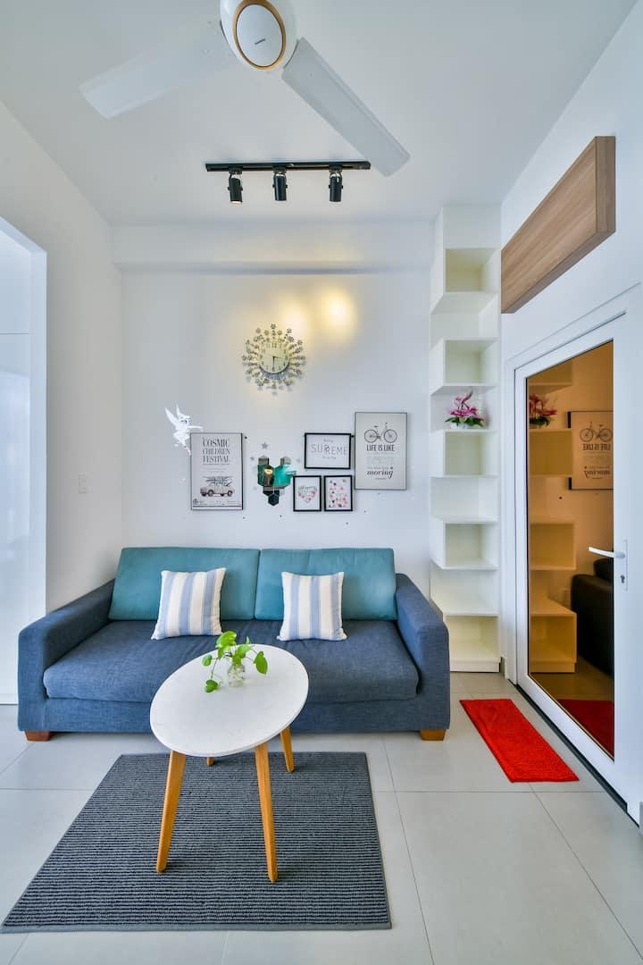 Apartment Serviced Thao Dien Dis2