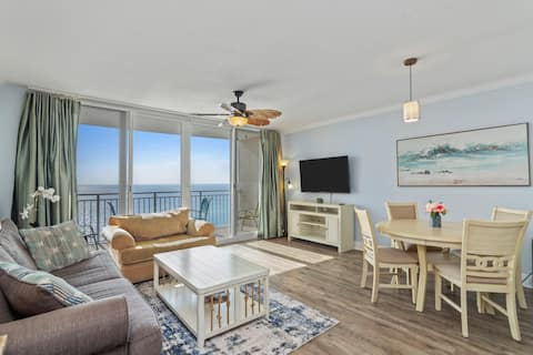🌊 New Luxury 1BR Beachfront spava 6!