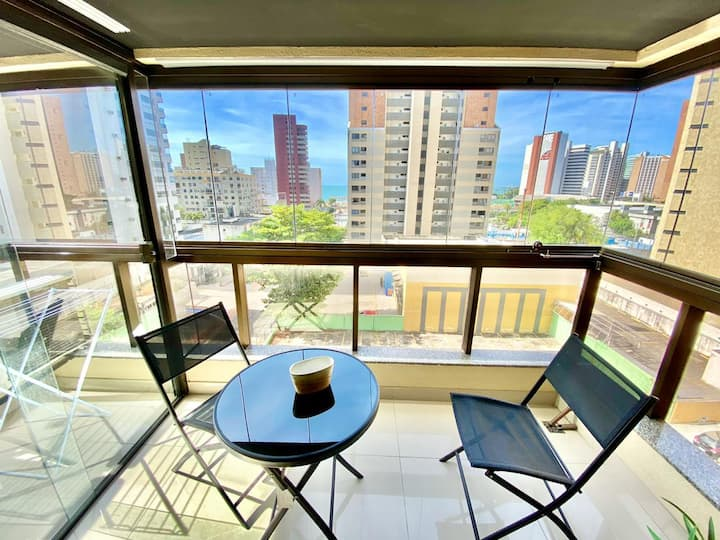 Flat for rent. On the seafront of Fortaleza-CE