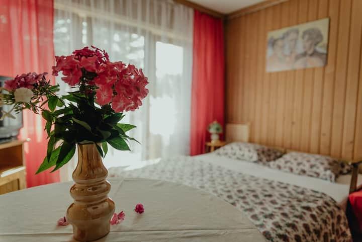 """""""Witkacy"""" - pokój z balkonem i widokiem na góry"""