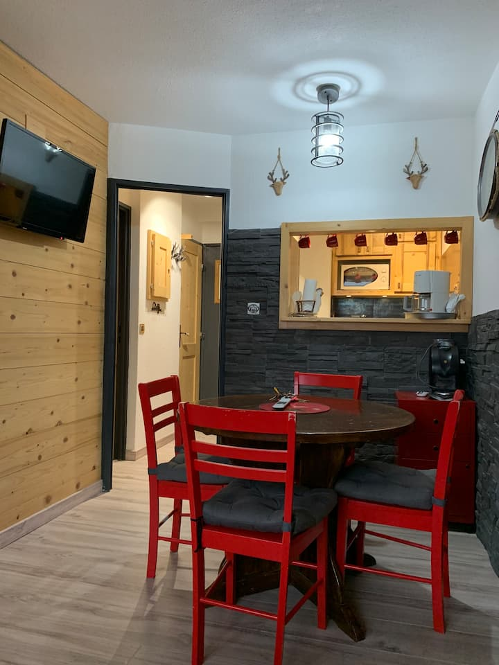 Appartement Avoriaz, ALPAGES ski au pied, centre