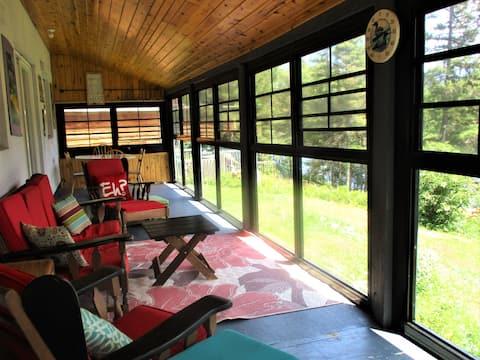 Baie Dorval Cottage - en el lago Kipawa