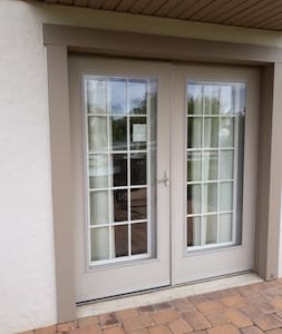 double terrace doors