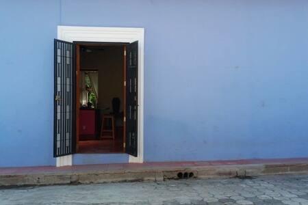 Wide entrance.