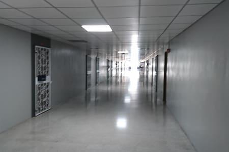 The corridor  with width 3 metres