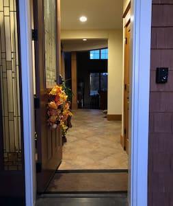 """Main entry door is 36"""" wide."""