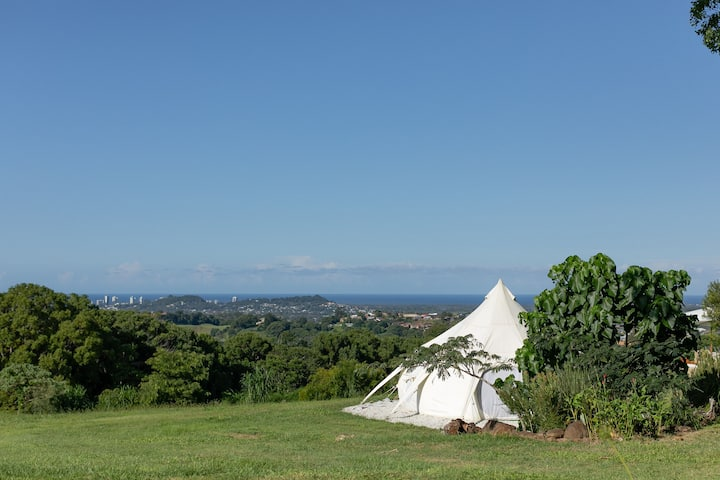 Glamping with a view and comfort