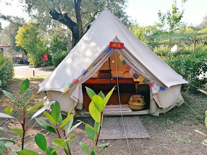 Bell Tent Triple