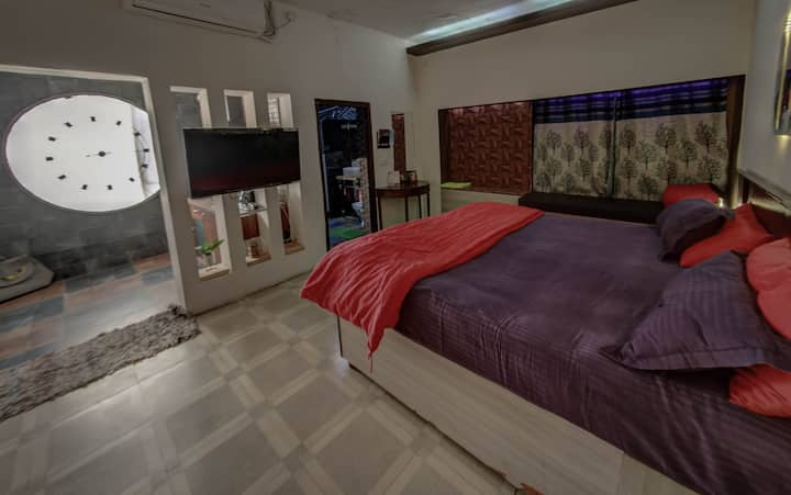 1 BHK cosy studio fast wifi+kitchen + netflix