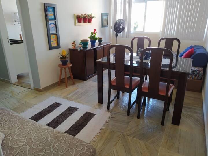 Apartamento aconchegante em Jardim Camburi