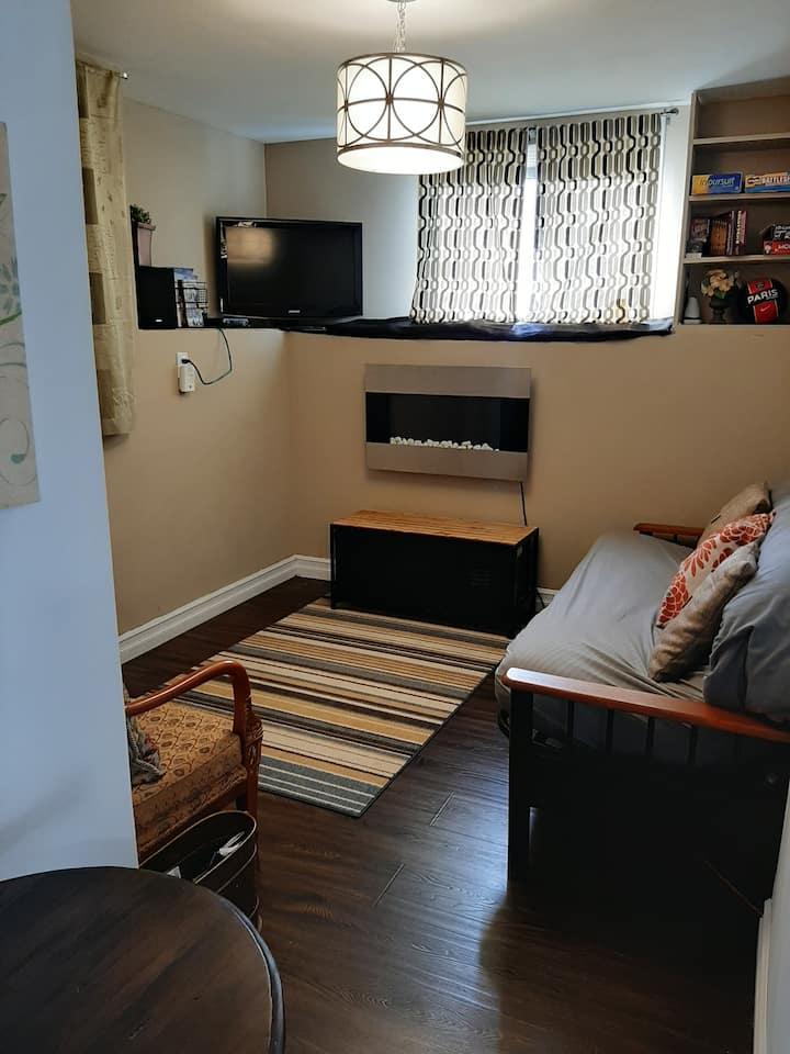 Basement Suite in Berwick-Separate&Sanitized