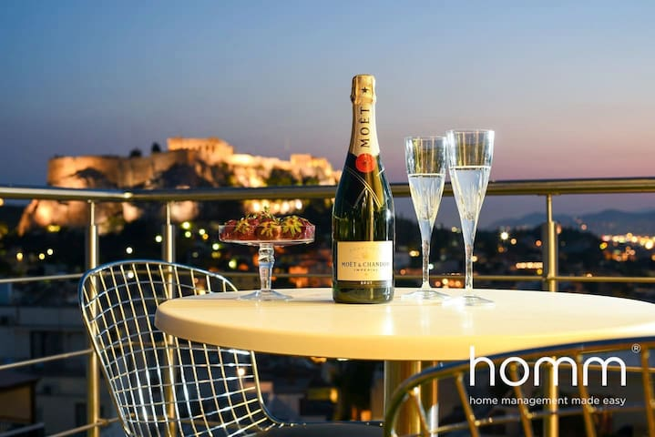 """Majestic homm Penthouse in the heart of """"Plaka"""""""