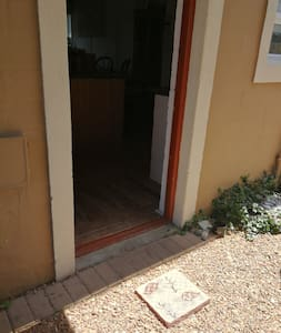 Backdoor entrance