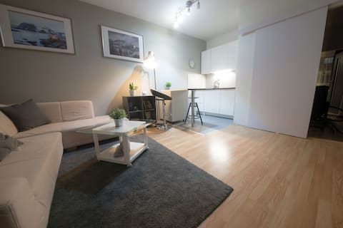 Comfortable apartment close to the town & forest