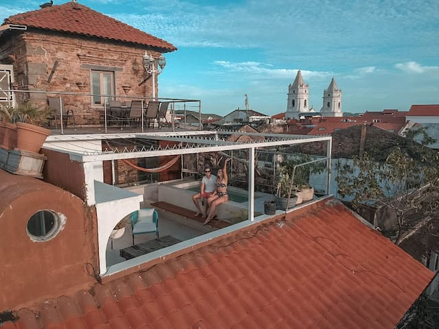 Casco Viejo Fabulous Old Tower 360° View Penthouse