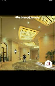 The Entrance of Admiral Baysuites going to Lobby