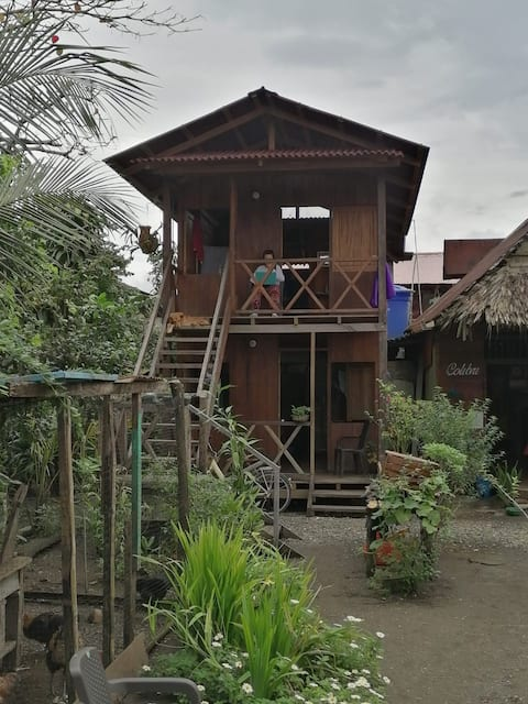 Casa Colibrí Nuqui- Habitación para dos