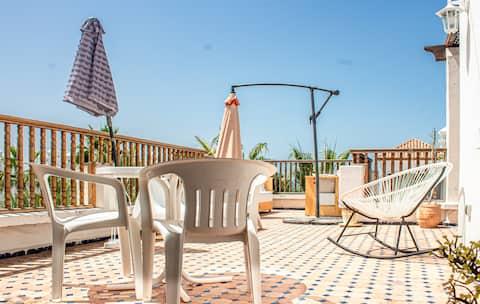Séjour de rêve avec vue sur l'océan à Bouznika Bay