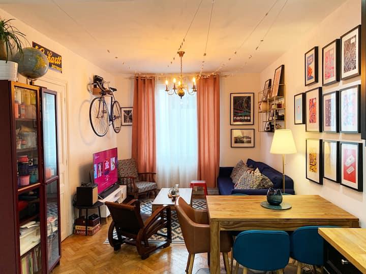 Atelier d'artiste au cœur des maisons de Champagne