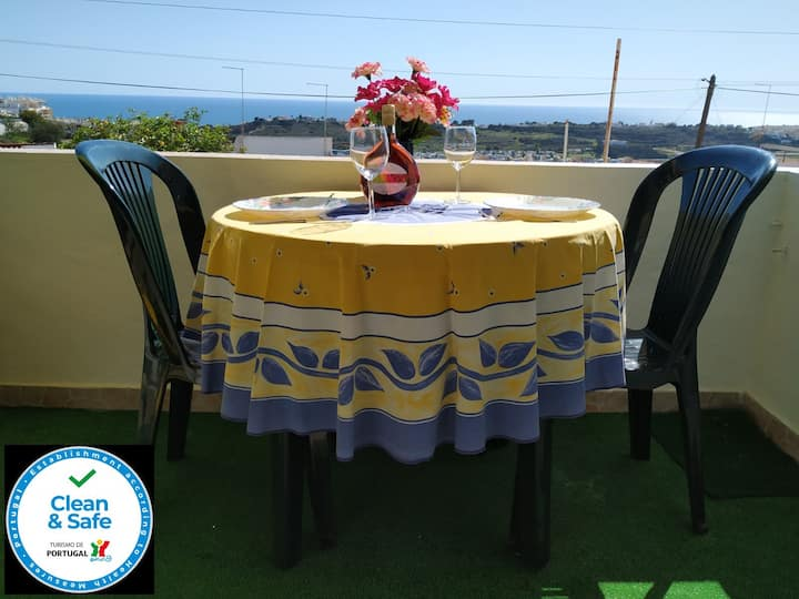 ' Vista Mar' - T1 Albufeira - Patio - 'Sea View'