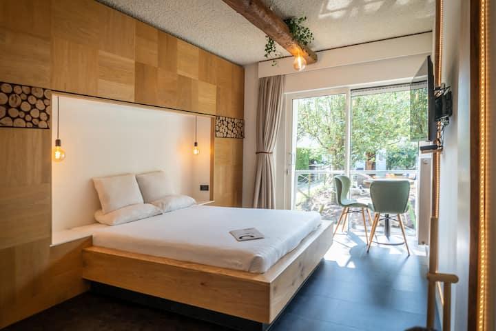 Het Bos, smaakvolle kamer, vlak bij het strand