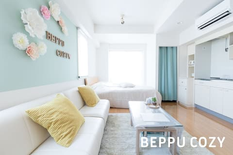 BEPPU COZY *Free PARKING*WiFi* 7minSt*Lift