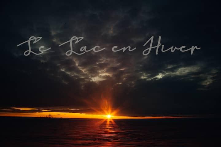 Bord du Lac-St-Jean: Petit Paradis à Saint-Gédéon