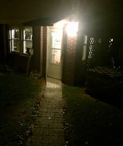 Main/Rear Entrance to house from Parking area