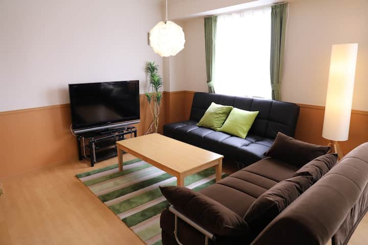 Modern&cozy 7min by subway from Nagoya Sta. Wi-Fi