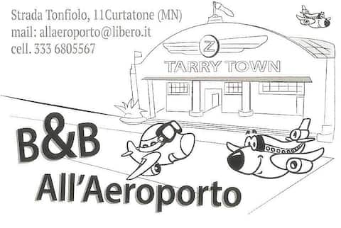 All'Aeroporto B&B - Mantova (località Curtatone)