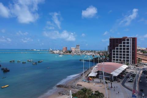 Flat Beira Mar Fortaleza - Iate Plaza