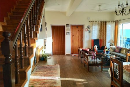 Our living with step free access to the room and dining hall