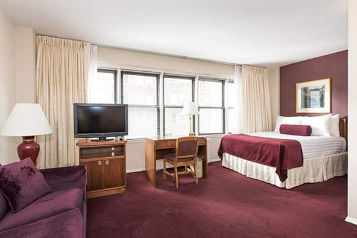 Extra Large Junior Suite in the heart of NYC