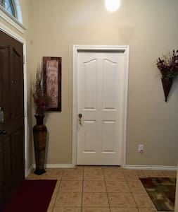 The door to enter the private room