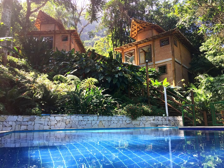 Tropical Beach Chalet - House 'Abricó'