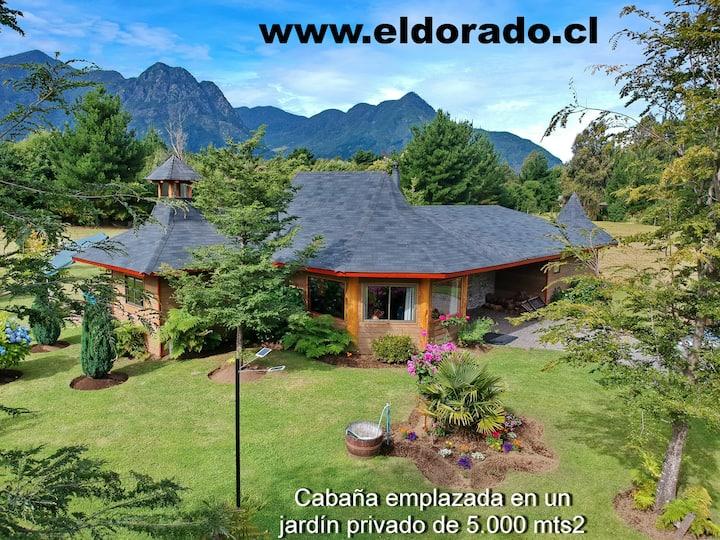 Cabañas El Dorado - Bungalow 22 Premium, 2 a 9 pax