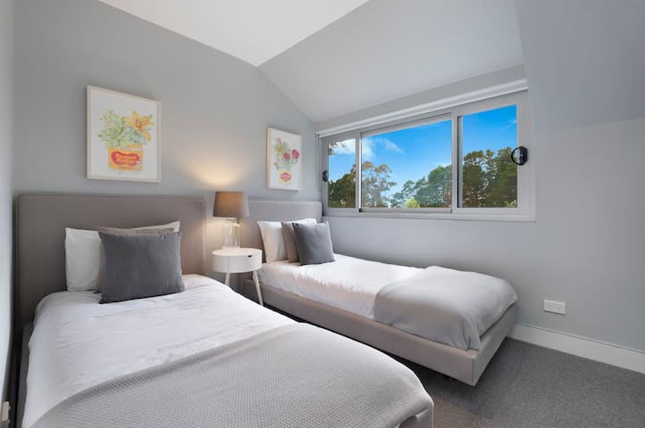 Third Bedroom with 2 x KING SINGLES