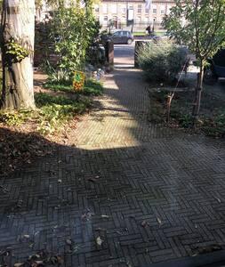 戶外通道沒有台階