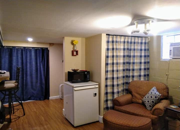 Lower Level Studio Apartment
