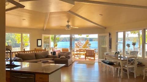 Jackson Lake House. Huge Deck,  Great Sunsets
