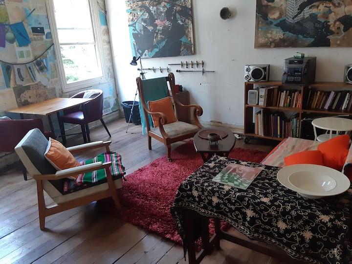 Casa Patrimonial & Taller de Arte en Cerro Alegre