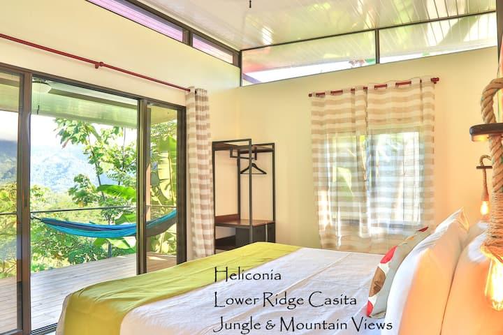 Jungle chic mountain view casita -  Heliconia