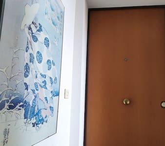 The flat door